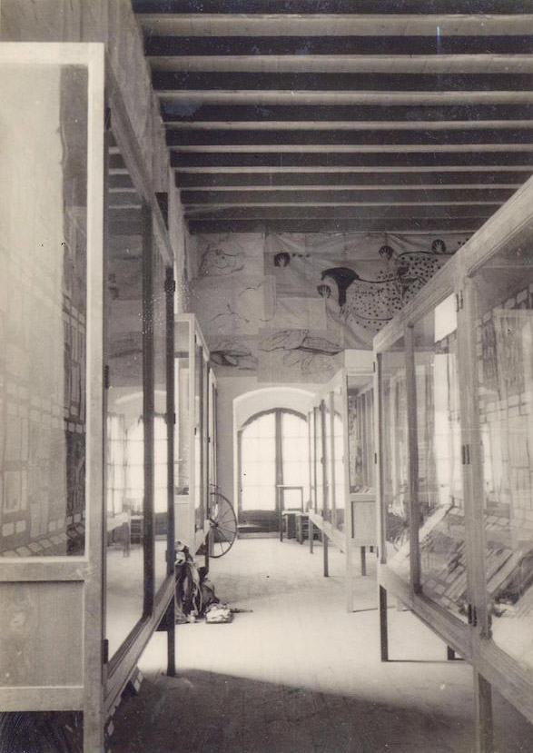 Le premier musée de préhistoire de Cabrerets en 1934