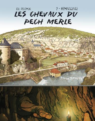 La découverte des peintures du Pech Merle en BD