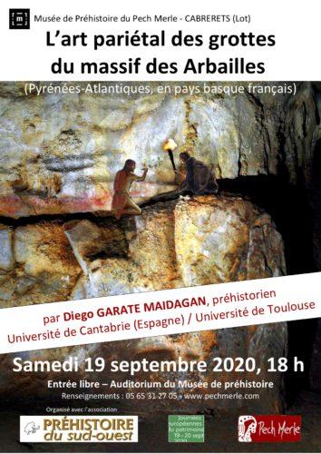 Lart pariétal des grottes du Massif des Arbailles (Pays basque français)