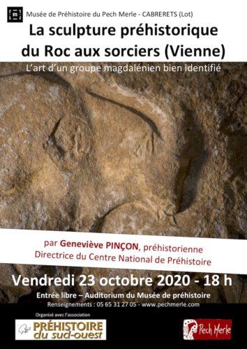 La sculpture préhistorique du Roc-aux-Sorciers (Vienne)